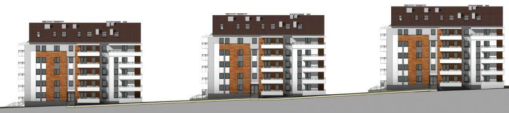 blok mieszkalny w Kolnie